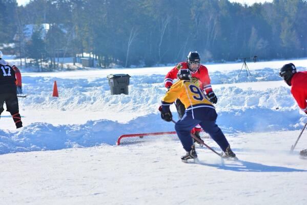 Summit Park Outdoor 3 on 3 Adult Hockey
