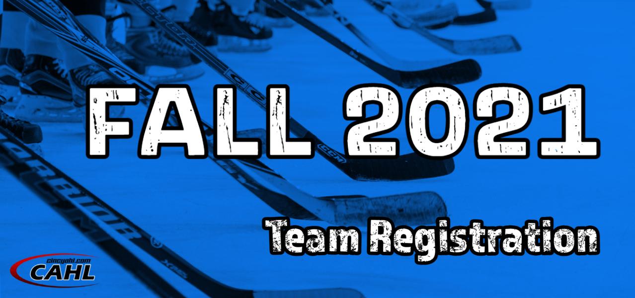 Fall 2021 Team Registration